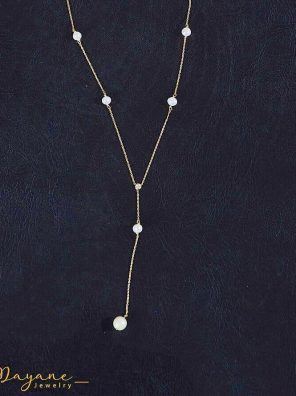 Dew Drop Pearl Necklace
