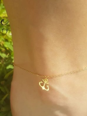 Anklet Ship Anchor